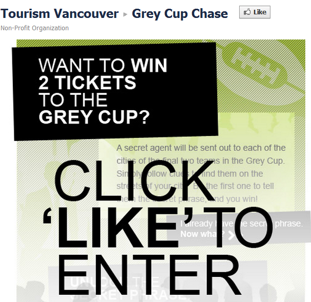 Grey Cup Chase