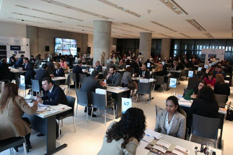 More than 60 buyers from all over Europe, U.S. and Asia meeting with the best tourism suppliers of destination: Athens